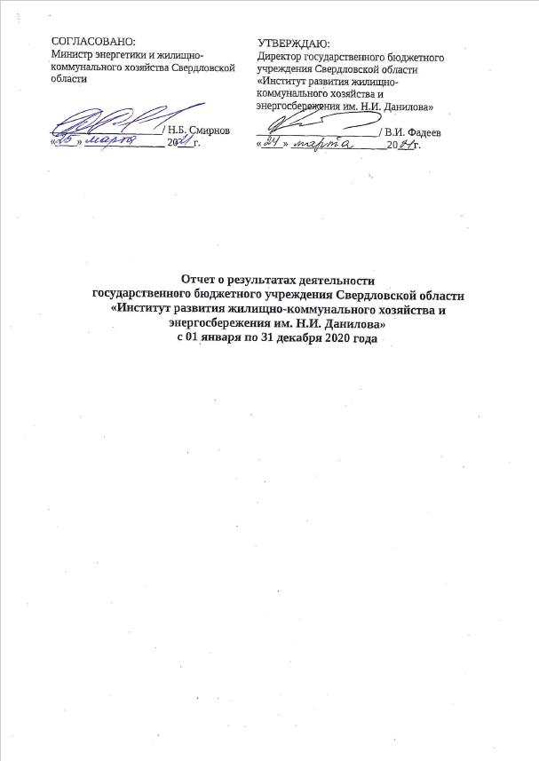 Отчет о результатах деятельности ГБУ СО